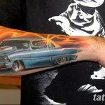 Фото рисунка татуировки автомобиль 29.10.2018 №048 - tattoo car drawing - tatufoto.com