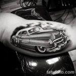 Фото рисунка татуировки автомобиль 29.10.2018 №055 - tattoo car drawing - tatufoto.com