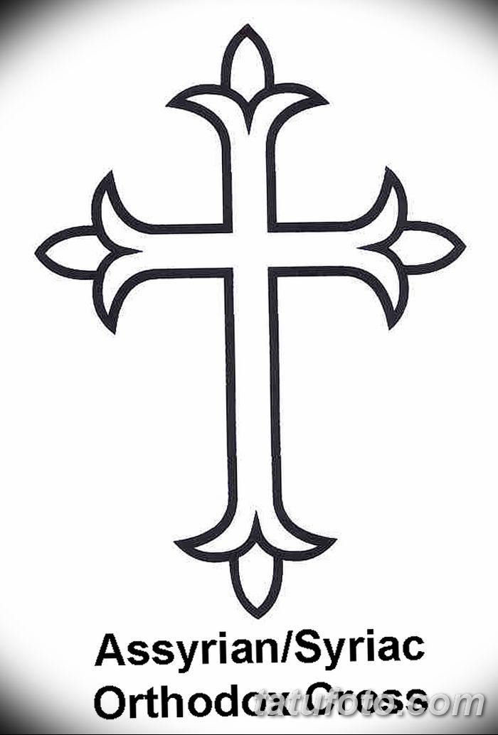 Фото рисунка тату Православный крест 12.10.2018 №025 - tattoo Orthodox - tatufoto.com