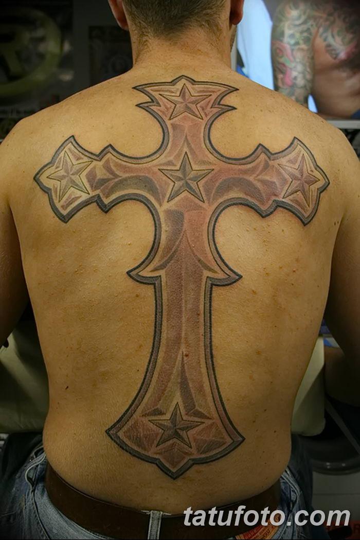 Фото рисунка тату Православный крест 12.10.2018 №040 - tattoo Orthodox - tatufoto.com