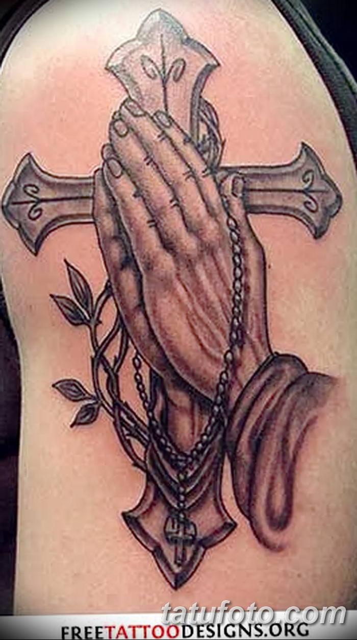 Фото рисунка тату Православный крест 12.10.2018 №087 - tattoo Orthodox - tatufoto.com