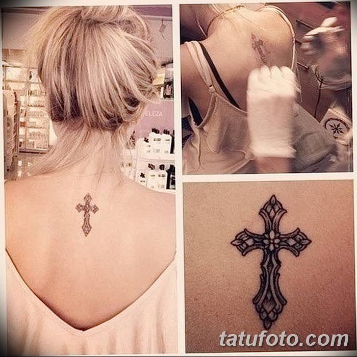 Фото рисунка тату Православный крест 12.10.2018 №090 - tattoo Orthodox - tatufoto.com