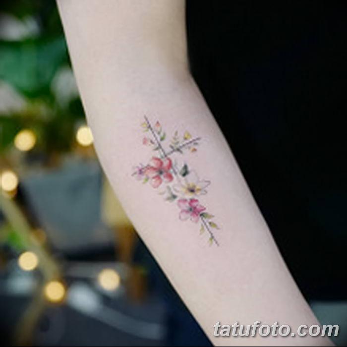 Фото рисунка тату Православный крест 12.10.2018 №091 - tattoo Orthodox - tatufoto.com