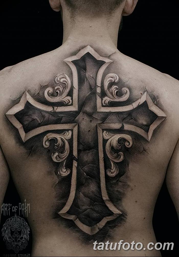 Фото рисунка тату Православный крест 12.10.2018 №109 - tattoo Orthodox - tatufoto.com