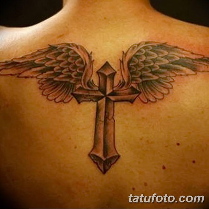 Фото рисунка тату Православный крест 12.10.2018 №111 - tattoo Orthodox - tatufoto.com