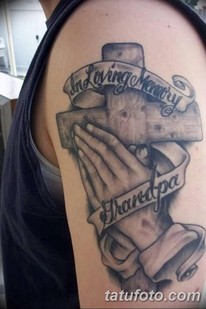 Фото рисунка тату Православный крест 12.10.2018 №143 - tattoo Orthodox - tatufoto.com