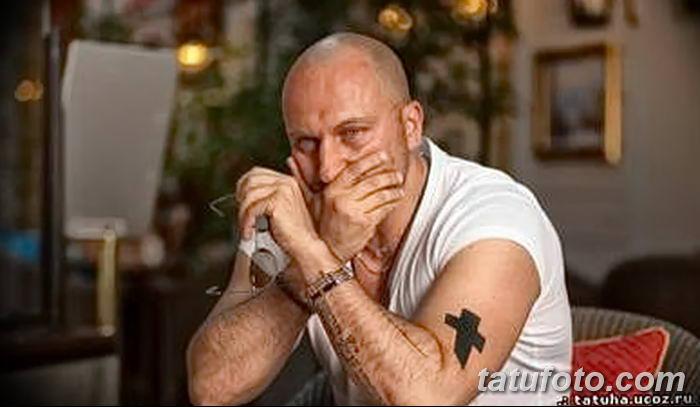 Фото рисунка тату Православный крест 12.10.2018 №203 - tattoo Orthodox - tatufoto.com