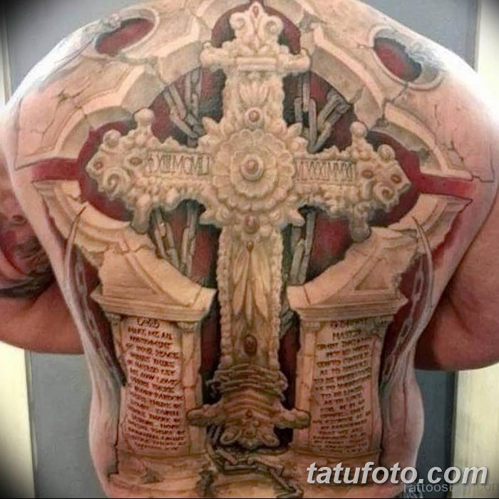 Фото рисунка тату Православный крест 12.10.2018 №207 - tattoo Orthodox - tatufoto.com
