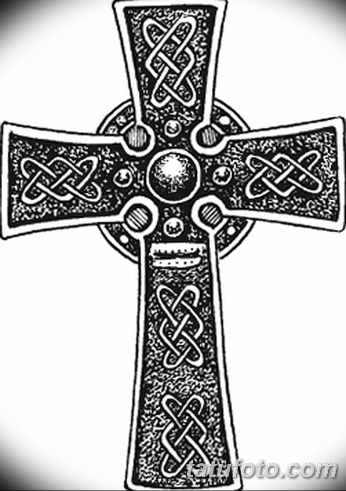 Фото рисунка тату Православный крест 12.10.2018 №210 - tattoo Orthodox - tatufoto.com