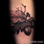 Фото рисунка тату дерево дуб 20.10.2018 №005 - tattoo tree oak drawing - tatufoto.com
