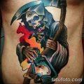Фото рисунка тату смерть с косой 05.10.2018 №101 - tattoo death - tatufoto.com
