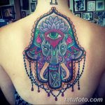 Фото рисунка тату хамса 20.10.2018 №057 - hamsa tattoo drawing - tatufoto.com