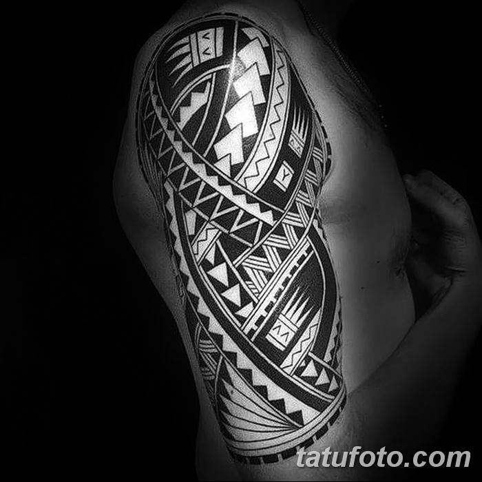 Фото рисунка тату этника 09.10.2018 №175 - ethnic tattoo - tatufoto.com