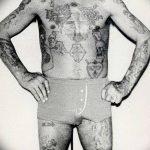 Фото рисунка тюремной тату 19.10.2018 №153 - prison tattoo drawing - tatufoto.com