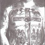 Фото рисунка тюремной тату 19.10.2018 №168 - prison tattoo drawing - tatufoto.com