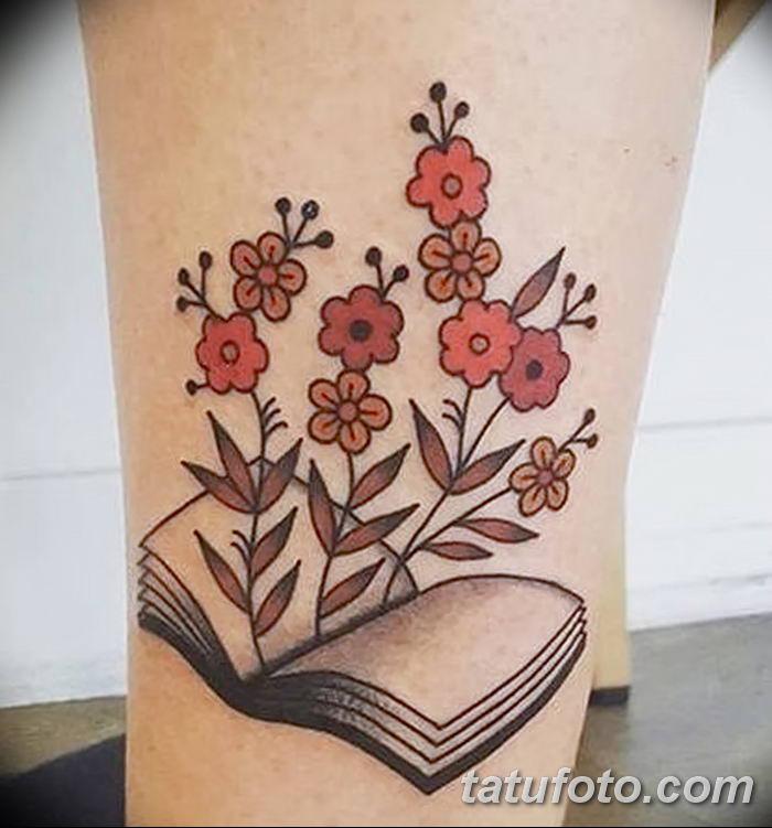 Фото рисунок тату книга 11.10.2018 №004 - tattoo picture book - tatufoto.com