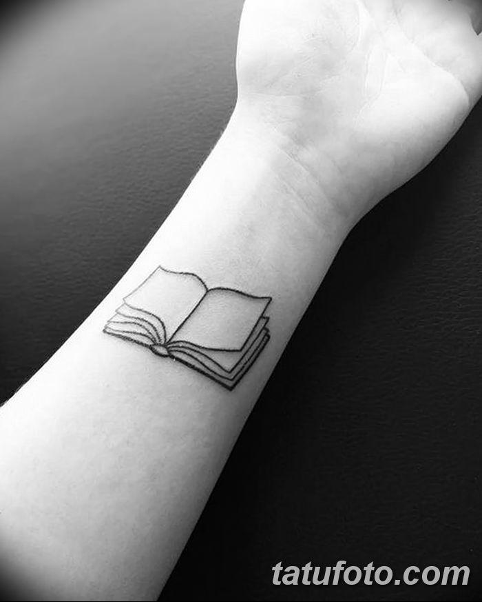 Фото рисунок тату книга 11.10.2018 №010 - tattoo picture book - tatufoto.com