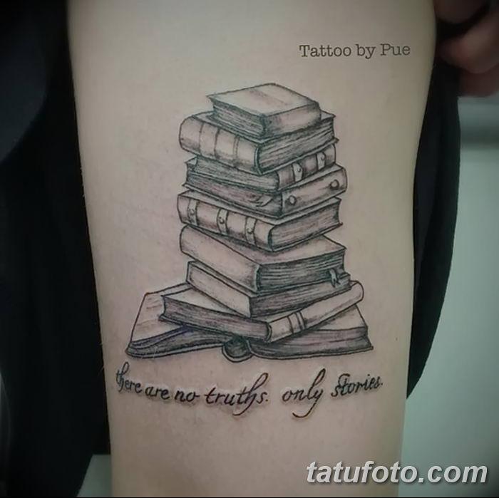 Фото рисунок тату книга 11.10.2018 №016 - tattoo picture book - tatufoto.com