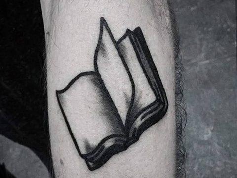 Фото рисунок тату книга 11.10.2018 №023 - tattoo picture book - tatufoto.com