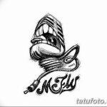 Фото современные эскизы тату 22.10.2018 №034 - modern sketches tattoo - tatufoto.com