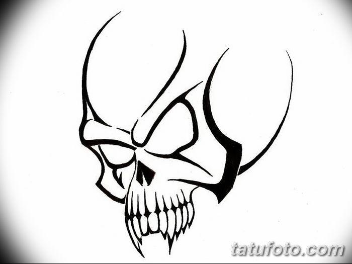 simple skull tattoo - 1200×630