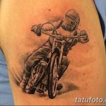 Фото тату мотоцикл 27.10.2018 №086 - motorcycle tattoo photo - tatufoto.com