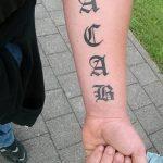 Фото Тату acab 02.11.2018 №044 - Acab tattoo - tatufoto.com