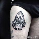 Фото Тату acab 02.11.2018 №045 - Acab tattoo - tatufoto.com