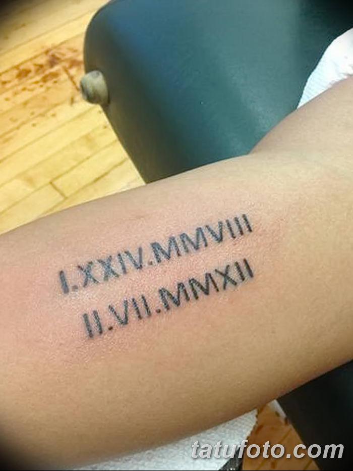 Фото рисунка Римские тату 12.11.2018 №002 - photo Roman tattoo - tatufoto.com