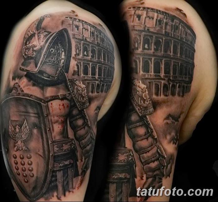 Фото рисунка Римские тату 12.11.2018 №011 - photo Roman tattoo - tatufoto.com