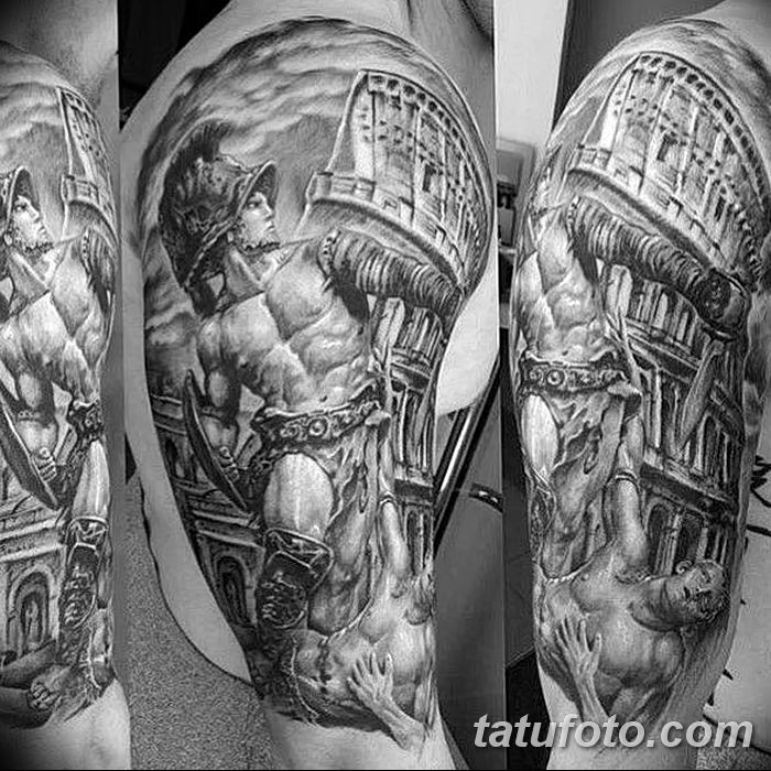 Фото рисунка Римские тату 12.11.2018 №020 - photo Roman tattoo - tatufoto.com
