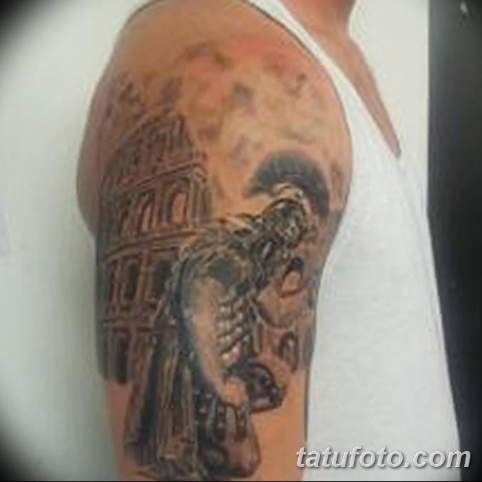 Фото рисунка Римские тату 12.11.2018 №040 - photo Roman tattoo - tatufoto.com