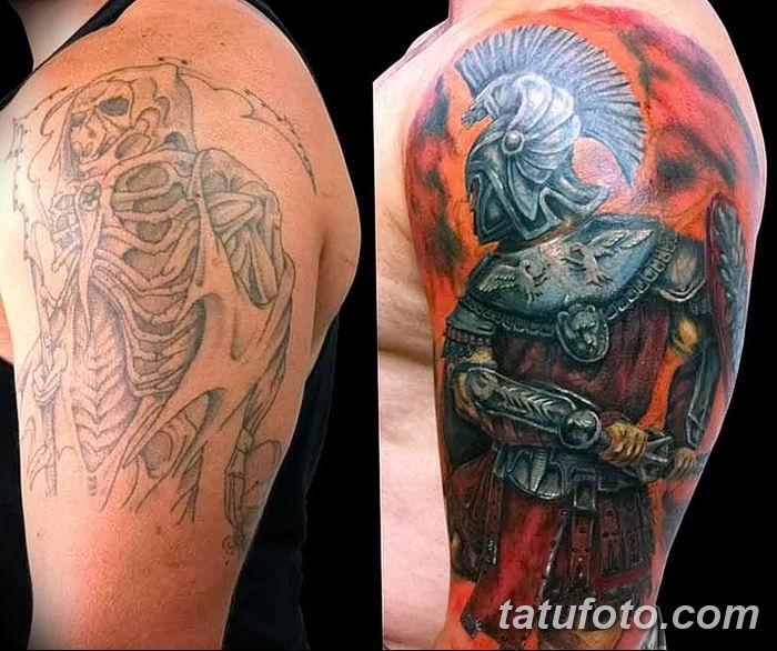 Фото рисунка Римские тату 12.11.2018 №047 - photo Roman tattoo - tatufoto.com