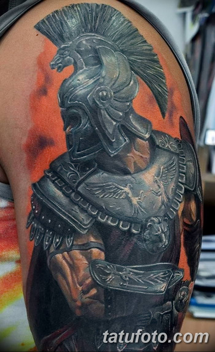 Фото рисунка Римские тату 12.11.2018 №052 - photo Roman tattoo - tatufoto.com