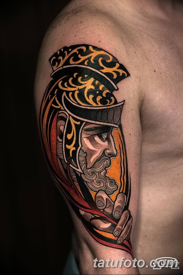 Фото рисунка Римские тату 12.11.2018 №070 - photo Roman tattoo - tatufoto.com