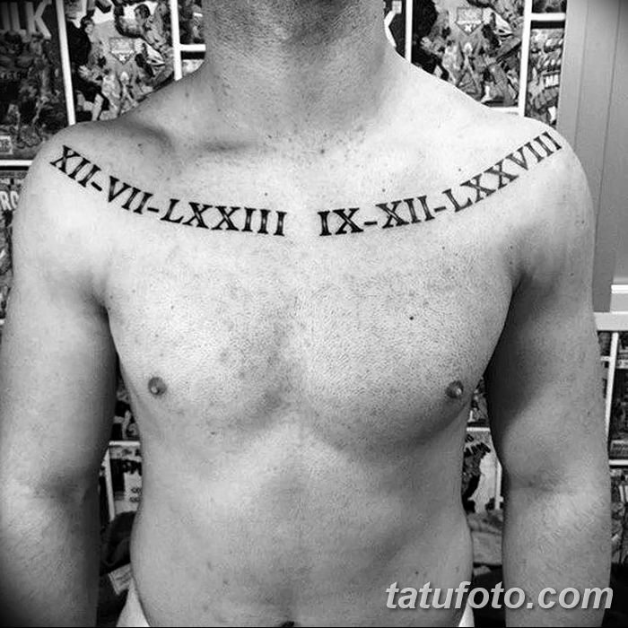 Фото рисунка Римские тату 12.11.2018 №073 - photo Roman tattoo - tatufoto.com