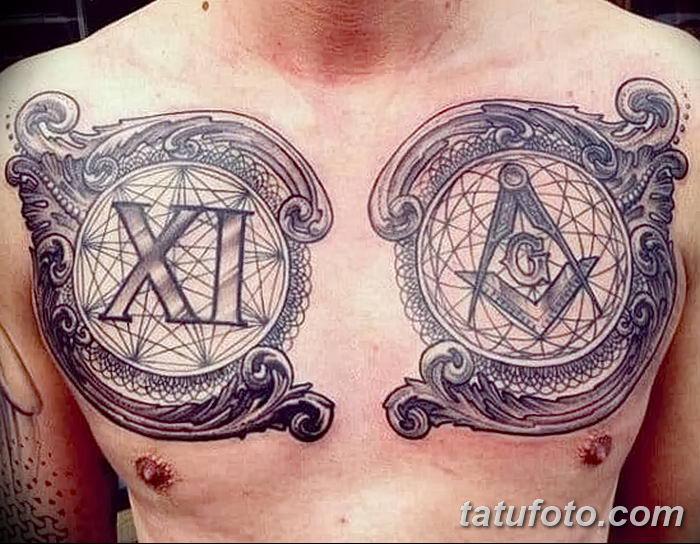 Фото рисунка Римские тату 12.11.2018 №116 - photo Roman tattoo - tatufoto.com