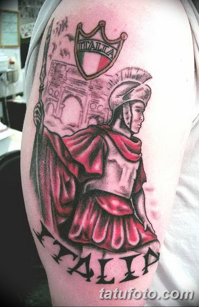 Фото рисунка Римские тату 12.11.2018 №124 - photo Roman tattoo - tatufoto.com