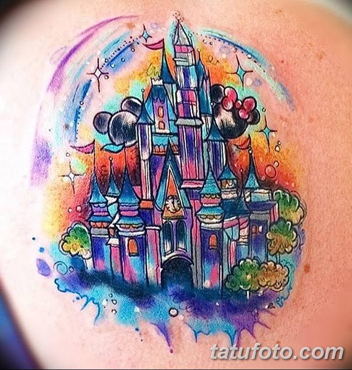 Фото рисунка Яркой татуировки 11.11.2018 №007 - photo Bright tattoo - tatufoto.com