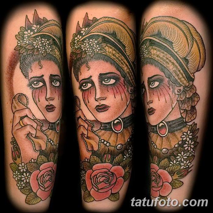 Фото рисунка Яркой татуировки 11.11.2018 №030 - photo Bright tattoo - tatufoto.com