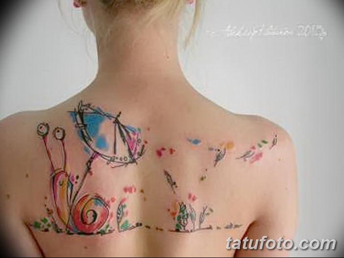 Фото рисунка Яркой татуировки 11.11.2018 №037 - photo Bright tattoo - tatufoto.com