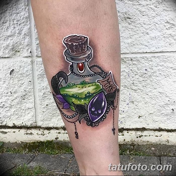 Фото рисунка Яркой татуировки 11.11.2018 №041 - photo Bright tattoo - tatufoto.com