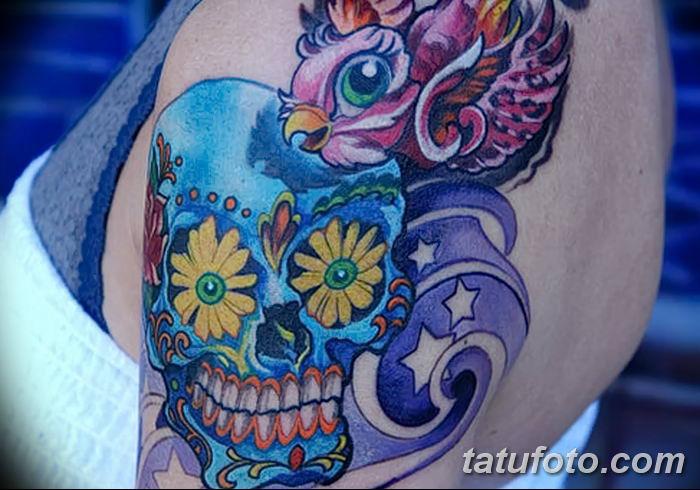 Фото рисунка Яркой татуировки 11.11.2018 №052 - photo Bright tattoo - tatufoto.com