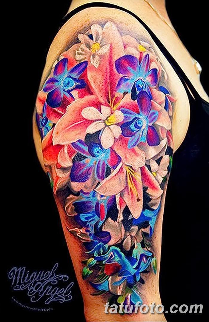 Фото рисунка Яркой татуировки 11.11.2018 №053 - photo Bright tattoo - tatufoto.com