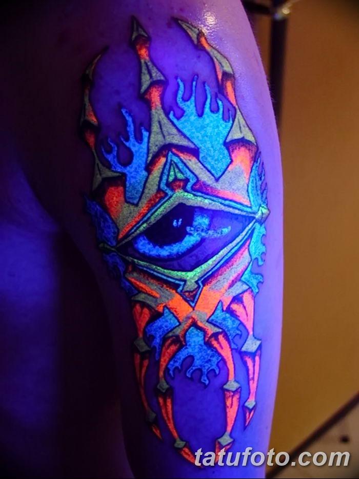 Фото рисунка Яркой татуировки 11.11.2018 №056 - photo Bright tattoo - tatufoto.com