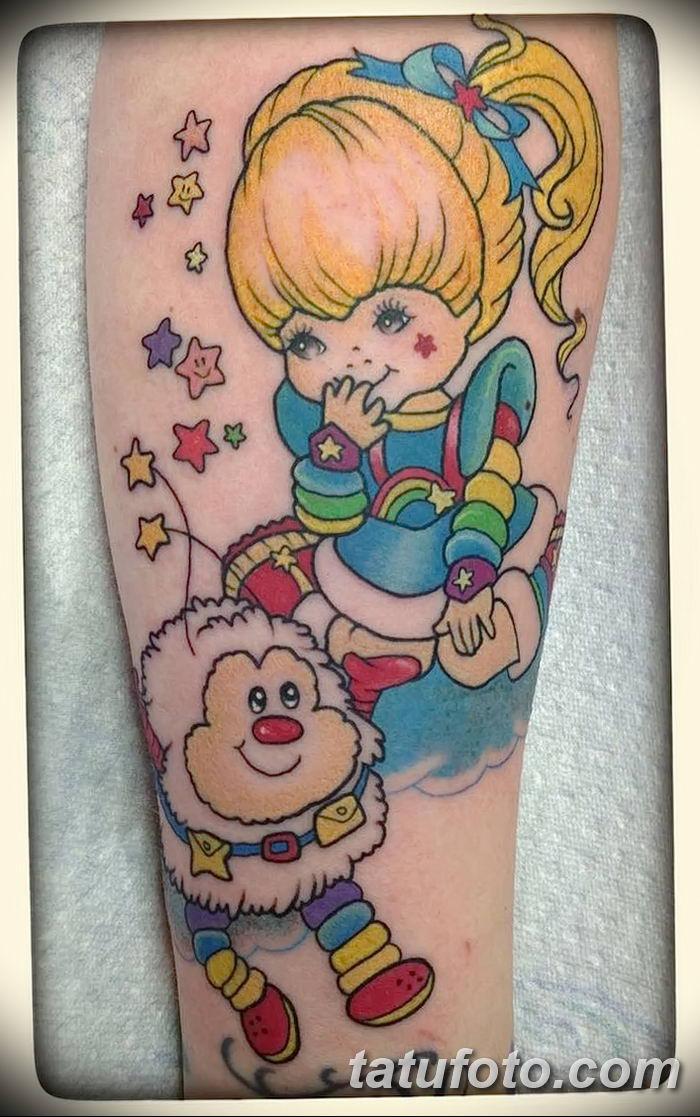 Фото рисунка Яркой татуировки 11.11.2018 №083 - photo Bright tattoo - tatufoto.com