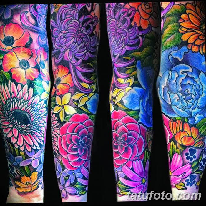 Фото рисунка Яркой татуировки 11.11.2018 №094 - photo Bright tattoo - tatufoto.com