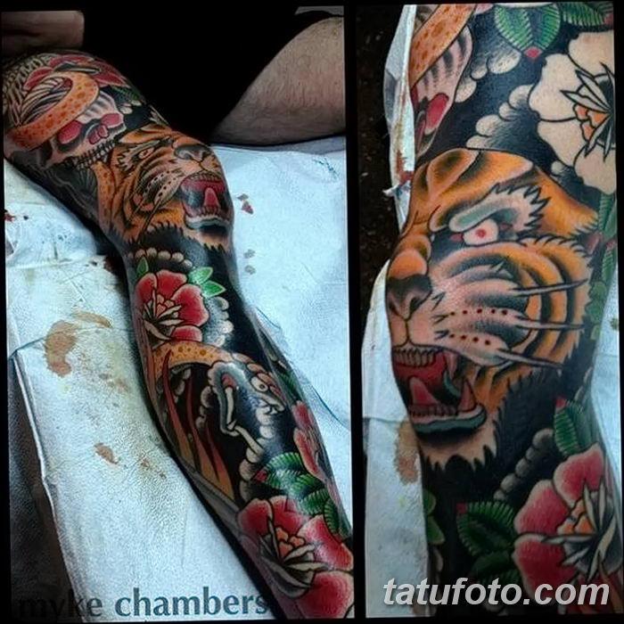 Фото рисунка Яркой татуировки 11.11.2018 №101 - photo Bright tattoo - tatufoto.com