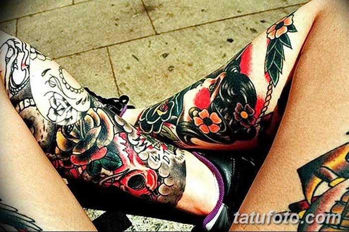 Фото рисунка Яркой татуировки 11.11.2018 №110 - photo Bright tattoo - tatufoto.com