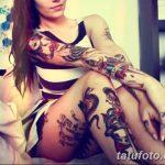 Фото рисунка Яркой татуировки 11.11.2018 №222 - photo Bright tattoo - tatufoto.com
